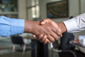 interview, employee, handshake